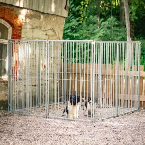 Hundgård sektion 1,2 m, gallergrind